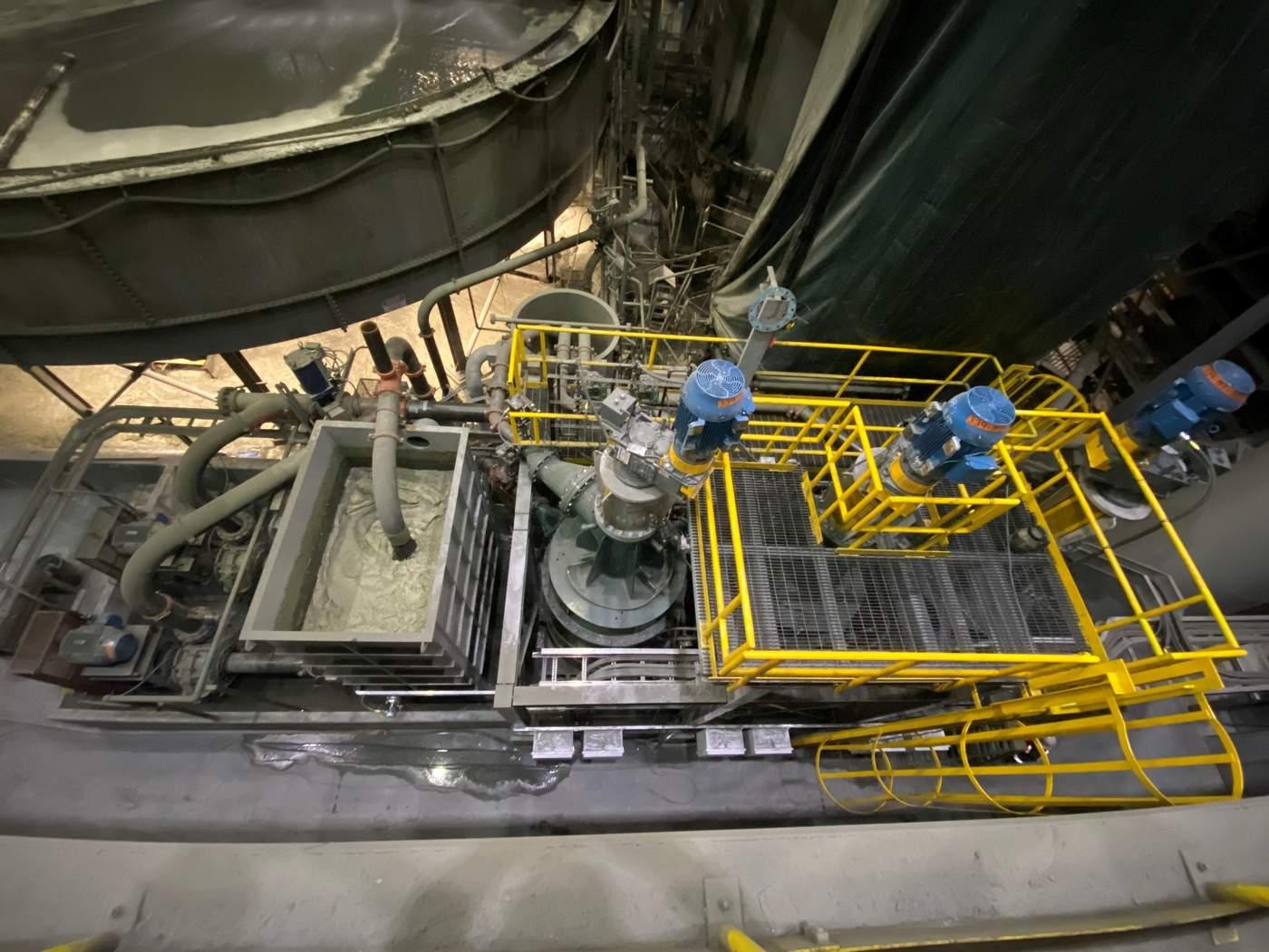 Copper Mountain nimmt Direktflotationsreaktoren in der Copper Mountain Mine in Betrieb