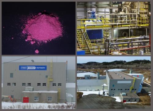 Glencore unterstützt Wiederinbetriebnahme der First Cobalt Raffinerie